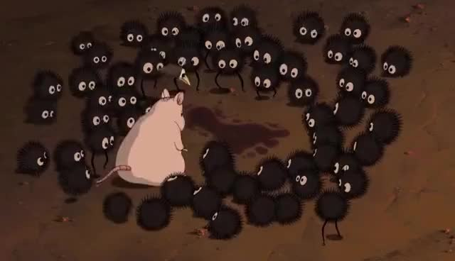 Watch and share Spirited Away - Evil Be Gone! GIFs on Gfycat