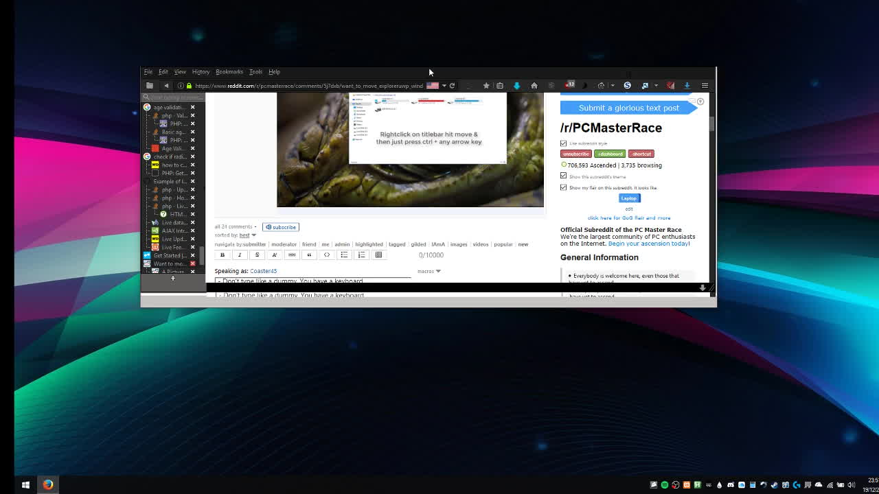 pcmasterrace, Firefox GIFs