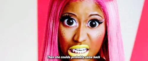 Watch and share Nicki Minaj Gifs GIFs and Stupid Hoe GIFs on Gfycat