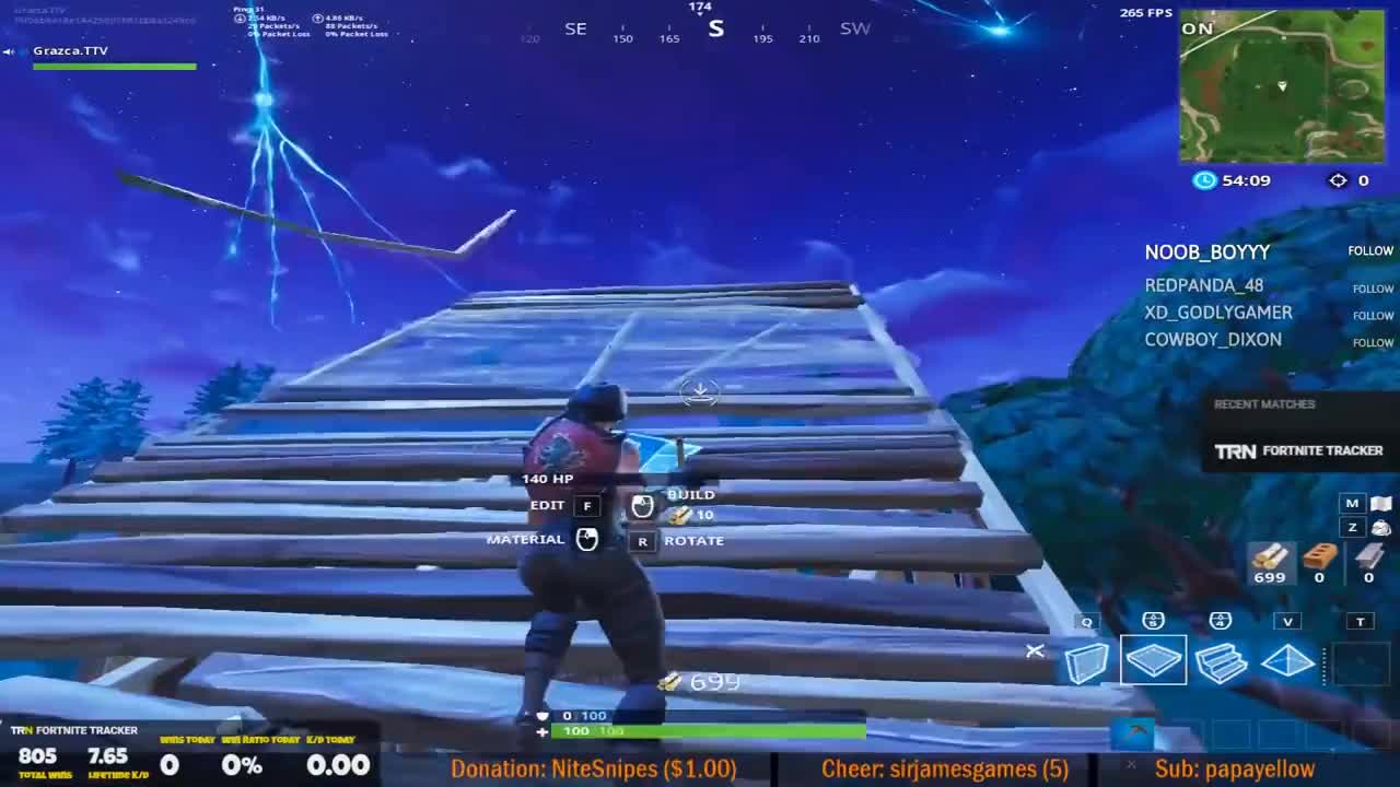 Ninja Explains Why He Doesnt Stretched Resolution Fortnite Best Stream  Moments 384