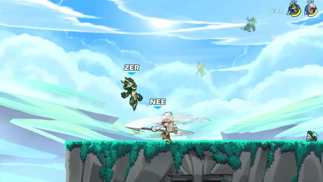 Watch and share Brawlhalla GIFs by cheernoob on Gfycat