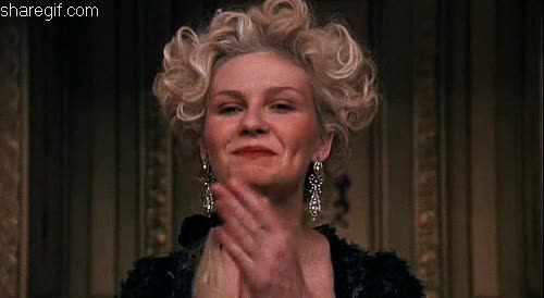 Watch this applause GIF by Reaction GIFs (@sypher0115) on Gfycat. Discover more applause, clap, clapping, kirsten dunst, respect, slow clap GIFs on Gfycat
