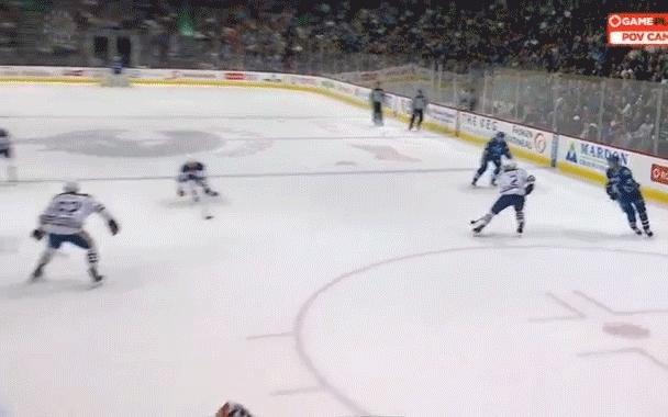 edmontonoilers, hockey, Hansen hurt GIFs