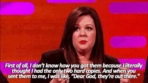 Watch and share Melissa Mccarthy GIFs and Graham Norton GIFs on Gfycat