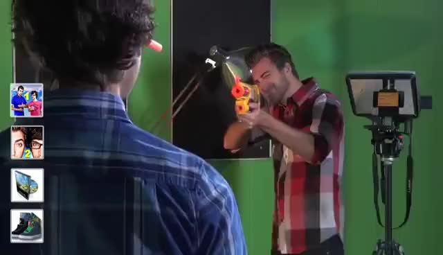 Watch and share Rhett And Link GIFs and Smoke GIFs on Gfycat