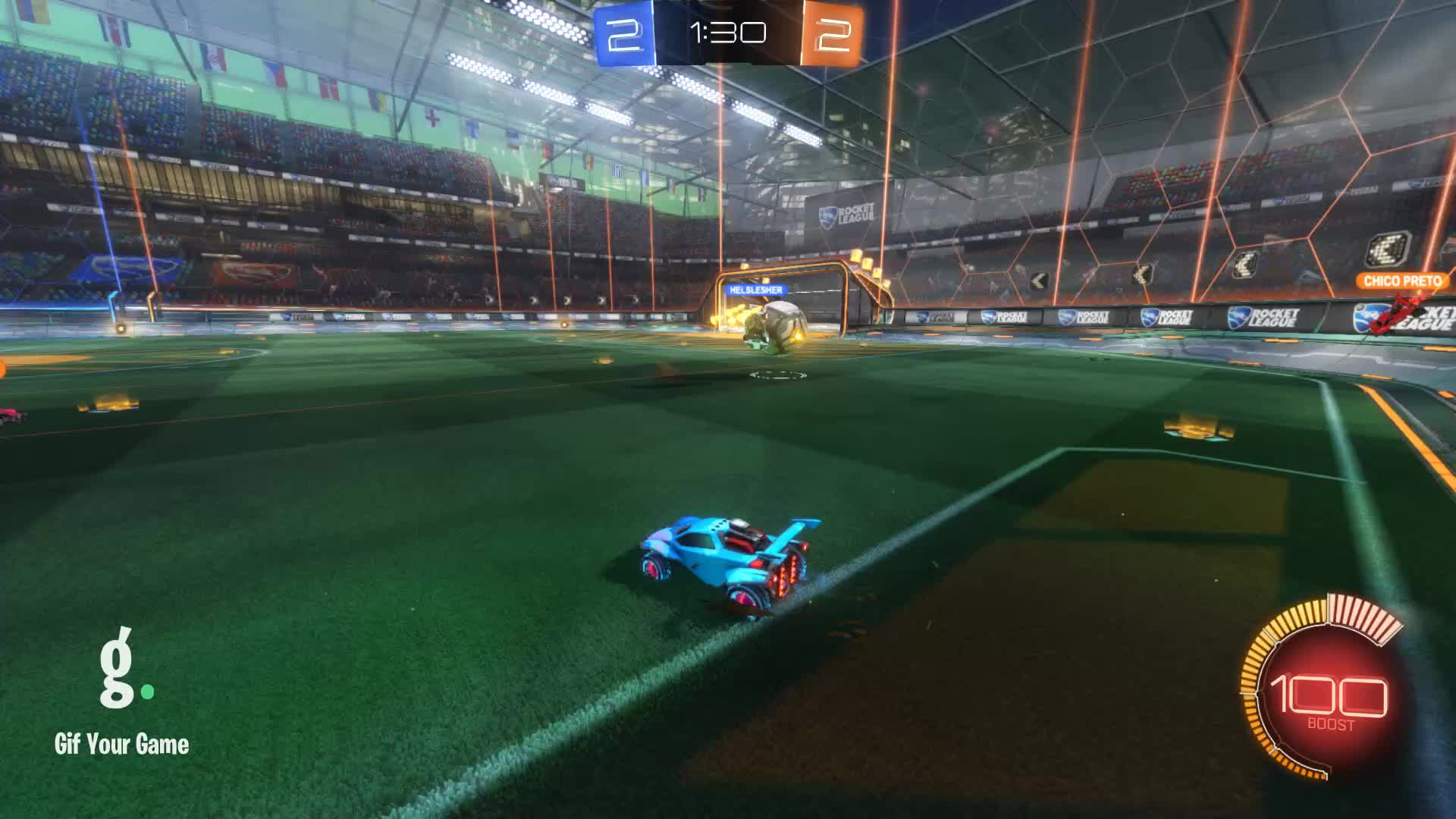 Assist, Gif Your Game, GifYourGame, Rocket League, RocketLeague, Timper [NL], Assist 4: Timper [NL] GIFs