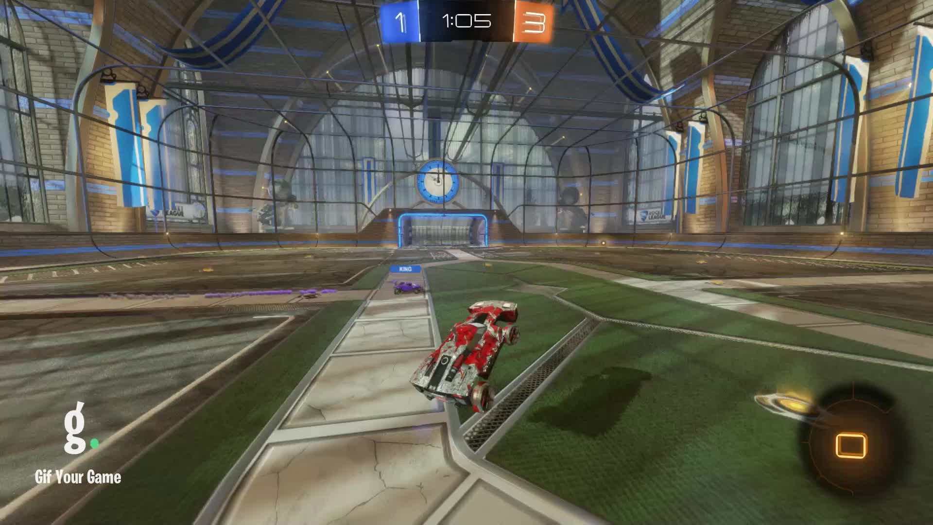 Gif Your Game, GifYourGame, Goal, Rocket League, RocketLeague, SaxySloth, Goal 5: SaxySloth GIFs