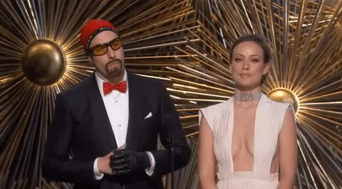 Watch and share Sacha Baron Cohen GIFs and Olivia Wilde GIFs on Gfycat
