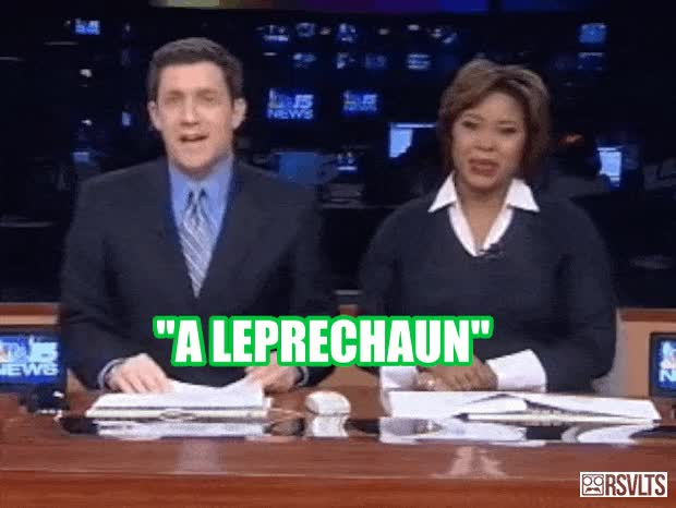 Watch and share Leprechaun In The Tree GIFs on Gfycat
