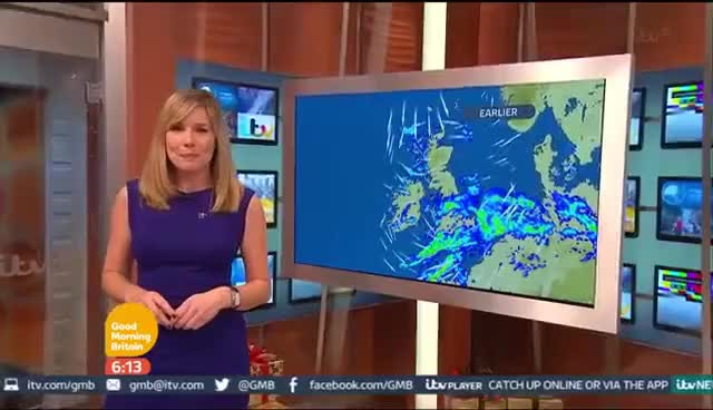 Watch and share Philippa Tomson - GMB Weather 12Dec2014 [HD] GIFs on Gfycat