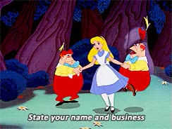 Watch and share Tweedle Dee And Tweedle Dum GIFs on Gfycat