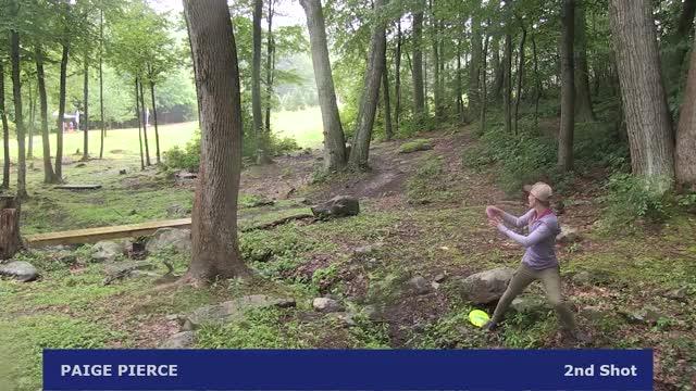 Watch 2017 Vibram Open - Pierce good upshot - Round 4, hole 16 GIF by Ultiworld Disc Golf (@ultiworlddg) on Gfycat. Discover more dgpt, disc golf, disc golf pro tour GIFs on Gfycat