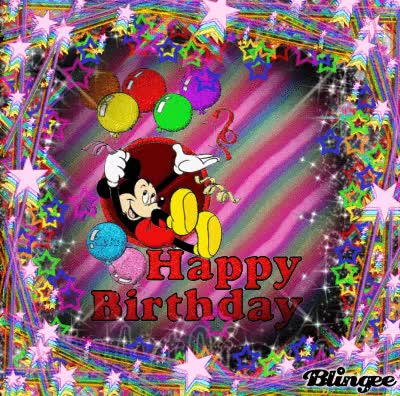 Watch happy birthday mickey mouse GIF on Gfycat. Discover more related GIFs on Gfycat