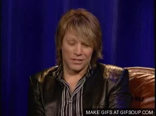 Watch and share Jon Bon Jovi GIFs on Gfycat