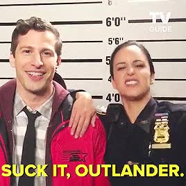 Watch and share Melissa Fumero GIFs and Andy Samberg GIFs on Gfycat