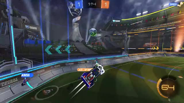 Watch Rocket League | Shot with GeForce GIF on Gfycat. Discover more GeForceGTX, RocketLeague, ShotWithGeForce, RocketLeague GIFs on Gfycat