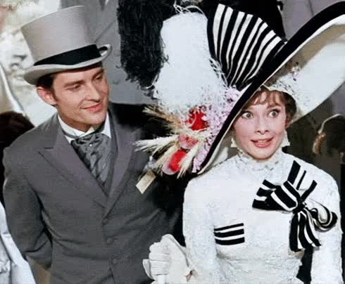 Watch my fair lady GIF on Gfycat. Discover more audrey hepburn GIFs on Gfycat