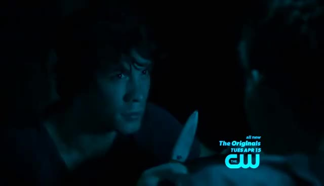 Watch and share Bellamy And Charlotte Scene 1x03 [The 100] GIFs on Gfycat
