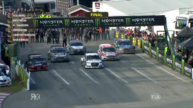 Watch and share Rallycross GIFs and Eriksson GIFs on Gfycat