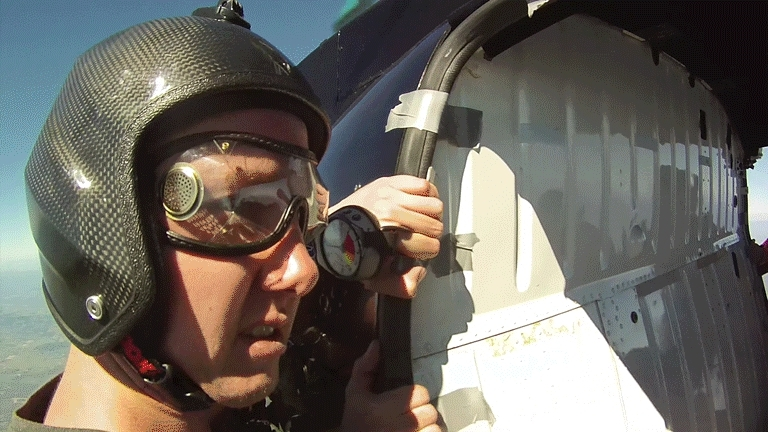 skydiving, First helicopter jump! (reddit) GIFs