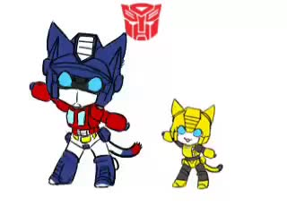Watch Autobot Nya -dance GIF on Gfycat. Discover more Bumblebee, Optimus Prime, Transformers G1 GIFs on Gfycat