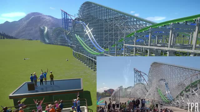 Watch Twisted Colossus Grand Opening! (Recreation) GIF by @wjw42 on Gfycat. Discover more related GIFs on Gfycat