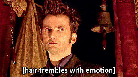 doctorwho, Hair Trembles with Emotion GIFs