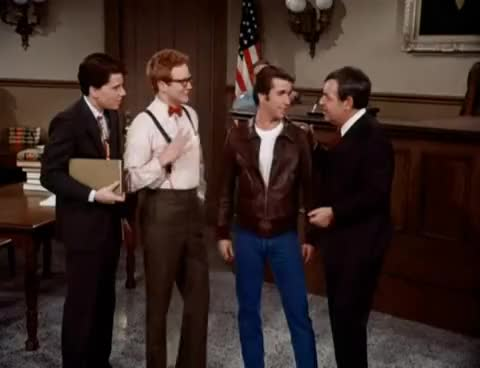 Watch and share Henry Winkler GIFs and Happy Days GIFs on Gfycat