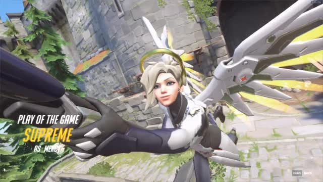 Watch and share Overwatch GIFs and Mercy GIFs by Iida on Gfycat