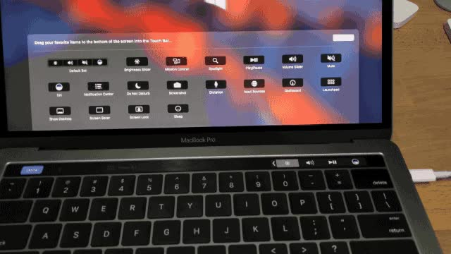 Watch macbook pro touch bar control strip GIF on Gfycat. Discover more related GIFs on Gfycat