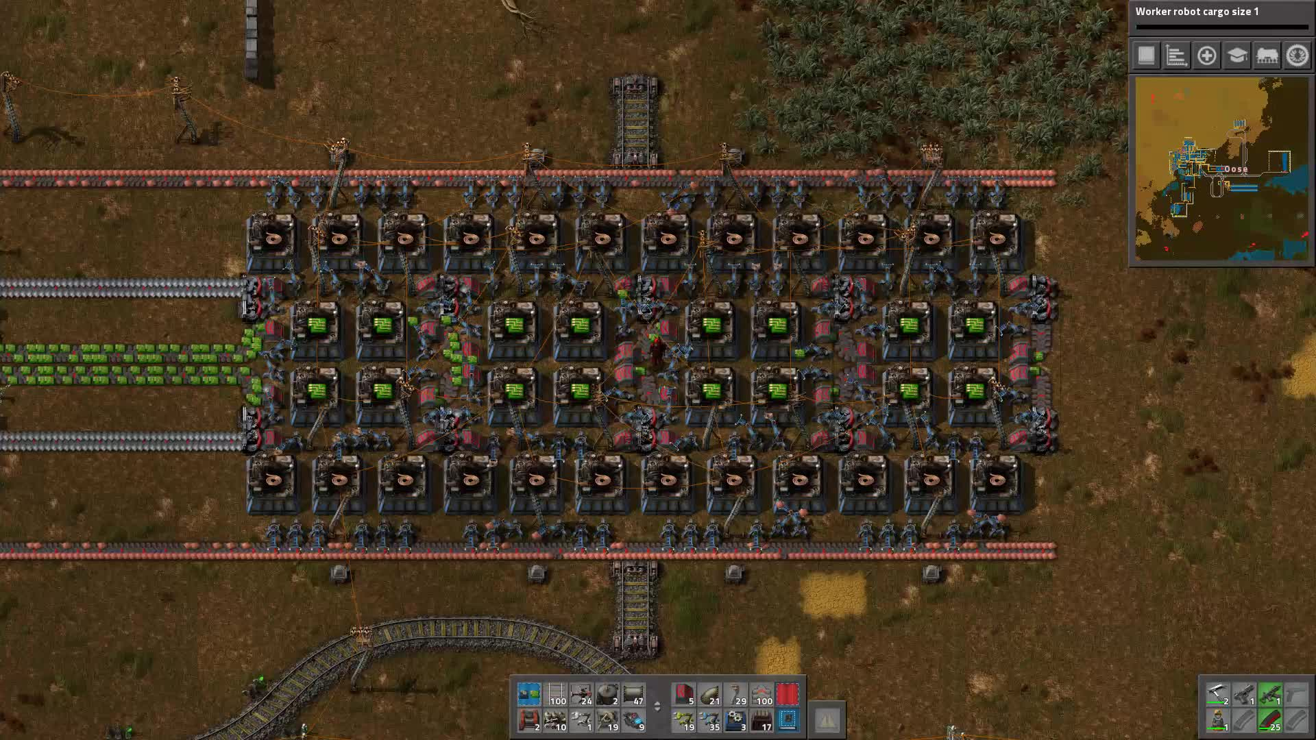 factorio, Very Compact 0.15 Green Circuit Factory (reddit) GIFs