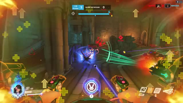 Watch and share Overwatch GIFs by ColdCow on Gfycat
