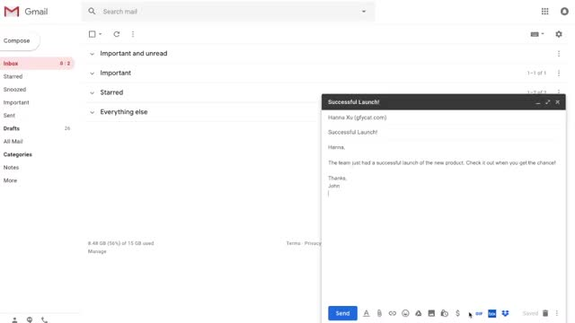 Watch and share Gmail GIFs by Tutorials & Support on Gfycat