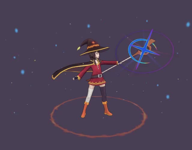Watch and share Megumin GIFs on Gfycat