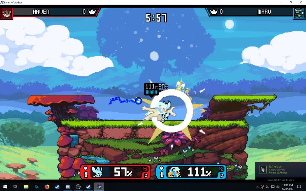 rivalsofaether, recovery kill3 GIFs