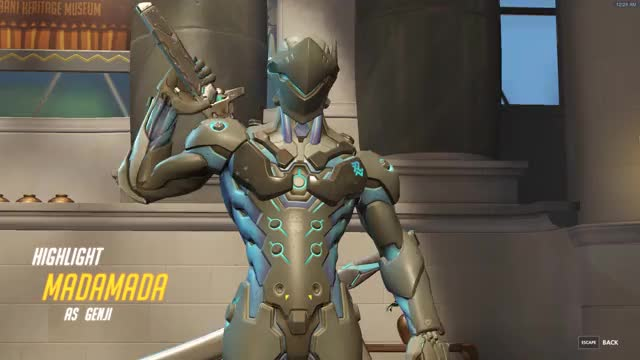 Watch and share Dragonblade GIFs and Overwatch GIFs on Gfycat