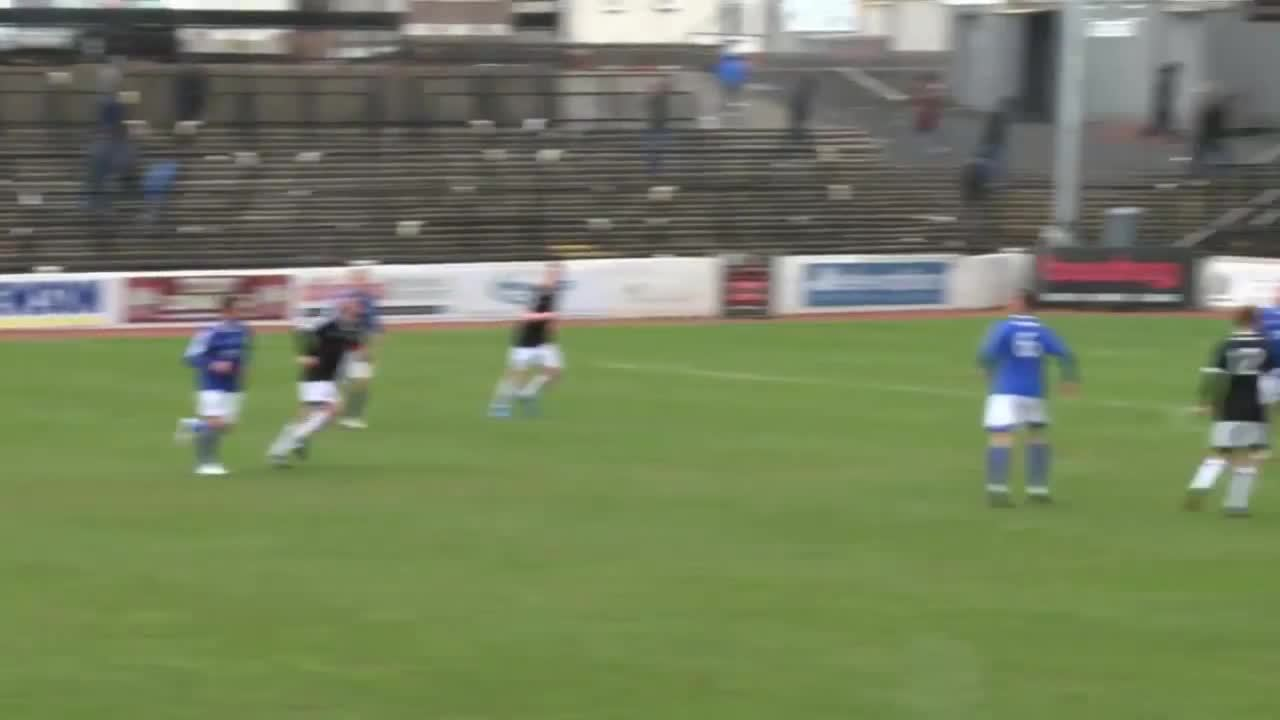 ScottishFootball, Gary McDonald scores for Peterhead v Ayr United after neat play at the edge of the box (reddit) GIFs