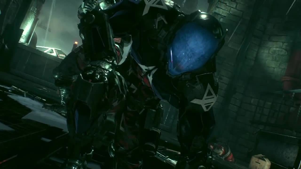 batmanarkham, The Arkham Knight's character design GIFs