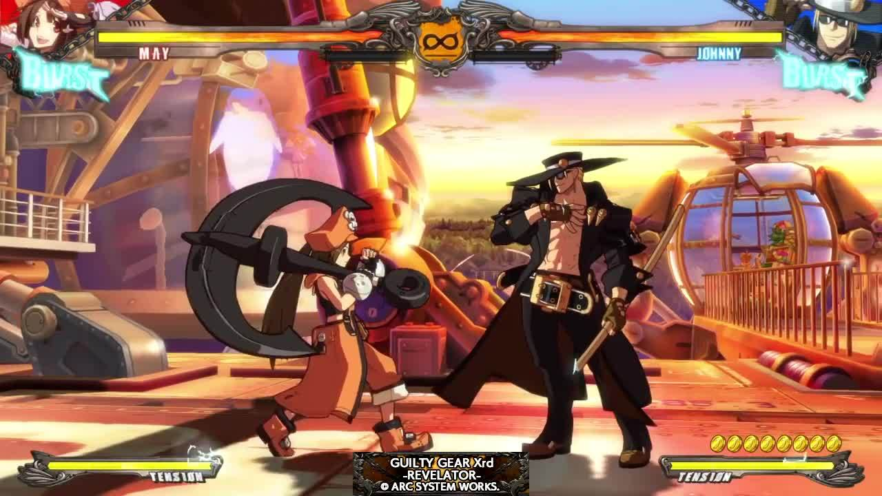 guiltygear, playstation 4, ps4share, sony interactive entertainment, xrd, Faultless Defense GIFs