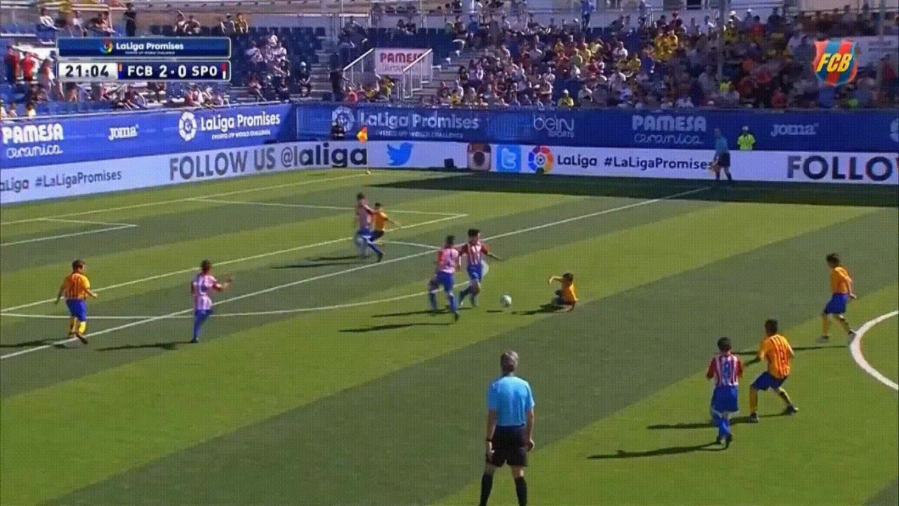 soccergifs, FC Barcelona Amazing U12 Goal 2016 GIFs
