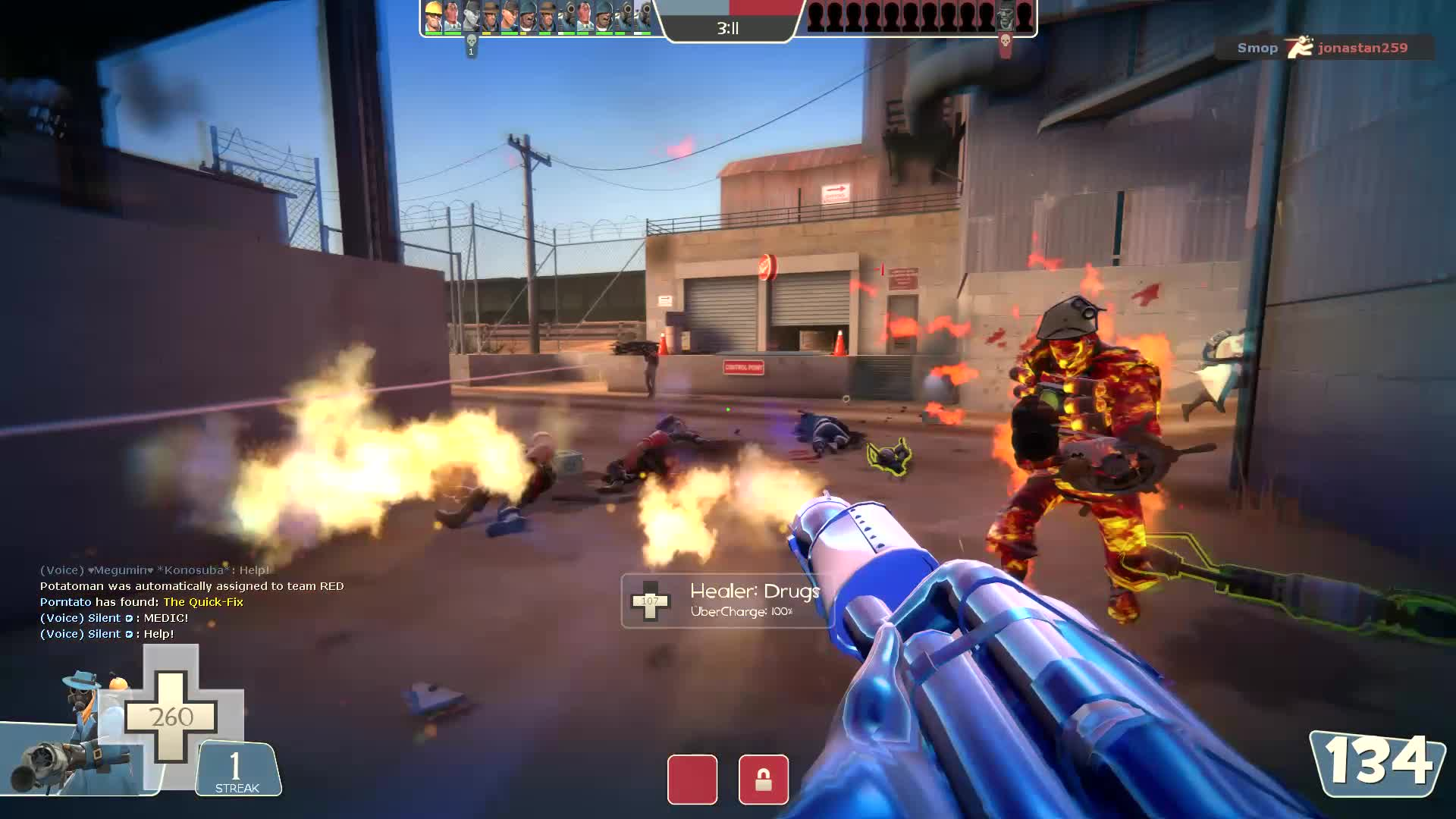 tf2, Another killstreak using mostly (but not exclusively) sentry rockets GIFs