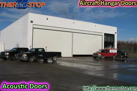 Watch and share Cold Storage Doors GIFs and Portes Acoustiques GIFs by thermostop on Gfycat