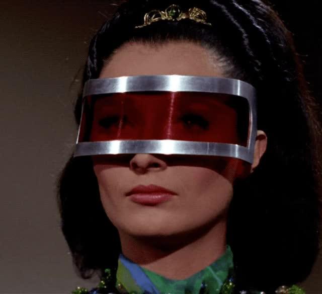 Watch and share Diana Muldaur GIFs and Leonard Nimoy GIFs by Star Trek gifs on Gfycat