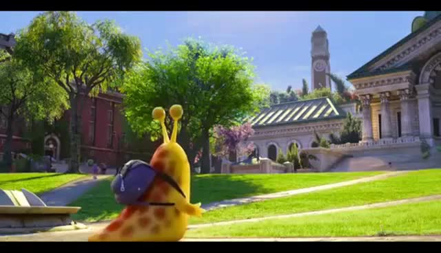 Watch and share Monsters University - Running Snail GIFs on Gfycat