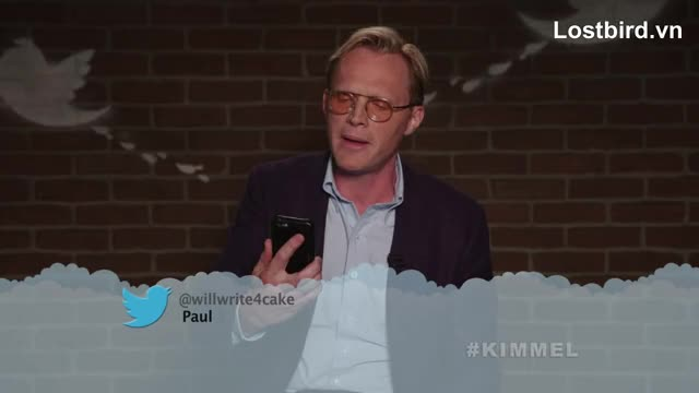 Watch and share Jimmy Kimmel Live GIFs and Paul Bettany GIFs on Gfycat