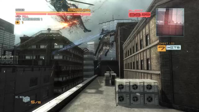 Watch and share Metal Gear Rising Revengeance Incredible Ending GIFs by queckquack on Gfycat