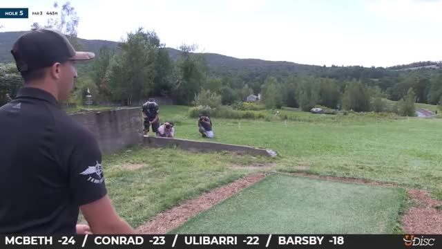 Watch 2018 PDGA World Championships - Round 3 Paul McBeth hole 5 GIF by Benn Wineka UWDG (@bennwineka) on Gfycat. Discover more Disc Golf Tournament, Live Disc Golf, PDGA, SmashBoxx, SmashBoxxTV, Sports, The Disc Golf Guy GIFs on Gfycat