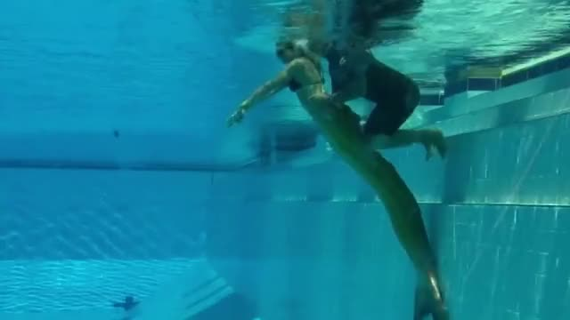 Watch H2O: Just Add Water - Behind the scenes: Underwater scenes GIF on Gfycat. Discover more h2o, mermaid, swimming GIFs on Gfycat