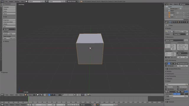 Watch and share Blender, Depth Buffer GIFs by dal290 on Gfycat