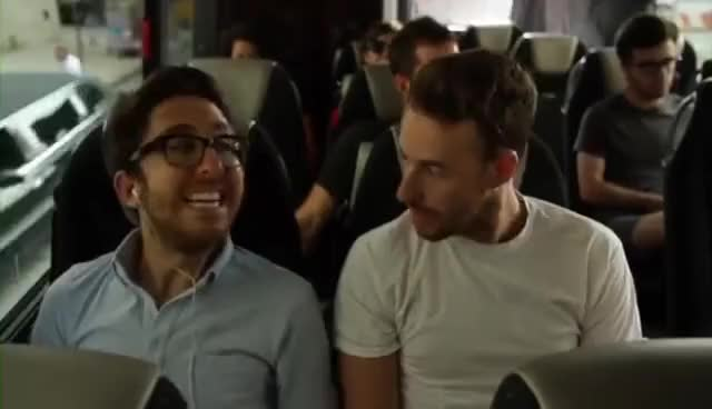 Watch amir bus GIF on Gfycat. Discover more collegehumor, funny, jake and amir GIFs on Gfycat